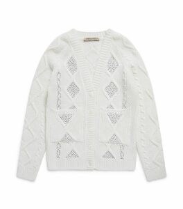 Diamanté Knitted Cardigan