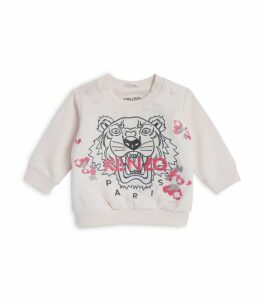 Icon Tiger Embroidered Sweatshirt