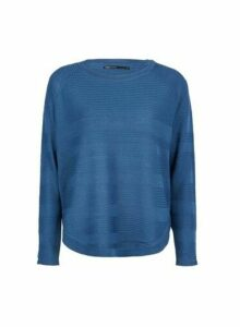 Womens **Only Blue Jumper- Blue, Blue