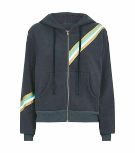 Graphic Zip-Up Hoodie