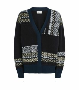 Knitted Fair Isle Cardigan