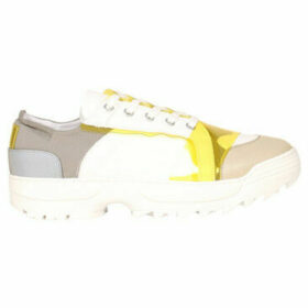 Accessoire Diffusion  Eco leather sneakers  women's Shoes (Trainers) in White