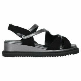 Accessoire Diffusion  Gandhi sandals  women's Sandals in Black