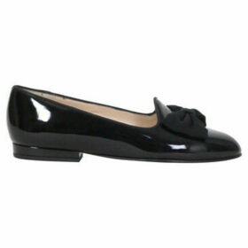 Carel  Marquis Leather Slippers  women's Shoes (Pumps / Ballerinas) in Black