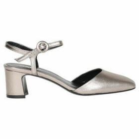 Carel  Soraya leather sandals  women's Shoes (Pumps / Ballerinas) in Silver