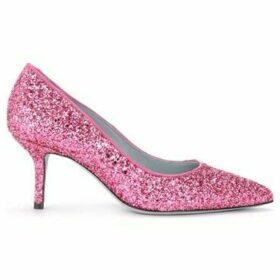Chiara Ferragni  Cleavage shoe Chiara Ferragni with a completely glittery  women's Court Shoes in Purple