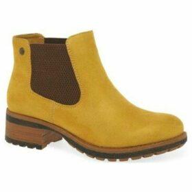 Rieker  Pine Womens Chelsea Boots  women's Low Boots in Yellow