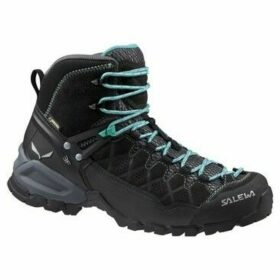 Salewa  WS Alp Trainer Mid Gtx FW16  women's Walking Boots in Black