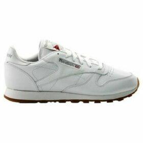 Reebok Sport  CL Lthr  women's Shoes (Trainers) in White