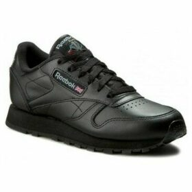 Reebok Sport  Classic Leather  women's Shoes (Trainers) in Black