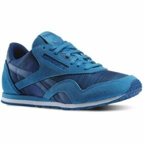 Reebok Sport  CL Nylon Slim Geo Graphic  women's Shoes (Trainers) in Blue