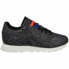Reebok Sport  Leather Snake  women's Shoes (Trainers) in Black