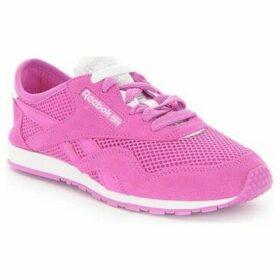 Reebok Sport  CL Nylon Slim Pigment Msh  women's Shoes (Trainers) in multicolour