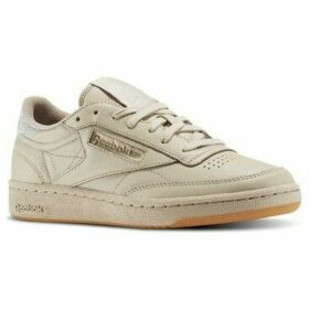 Reebok Sport  Club C 85 Diamond  women's Shoes (Trainers) in Beige