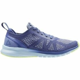 Reebok Sport  Print Smooth Clip U Lilacblueflashwht  women's Running Trainers in Blue