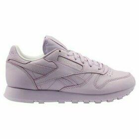 Reebok Sport  CL Lthr Spirit  women's Shoes (Trainers) in Purple
