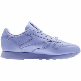 Reebok Sport  Classic Leather Lilac Glow  women's Shoes (Trainers) in Purple