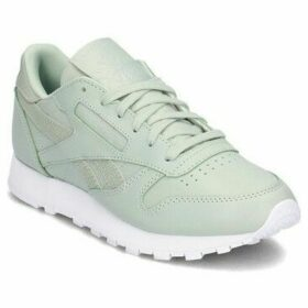 Reebok Sport  Classic Leather PS Pastel  women's Shoes (Trainers) in Green