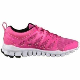 Reebok Sport  Realflex Train 40  women's Shoes (Trainers) in Pink