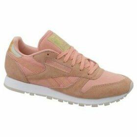 Reebok Sport  CL Lthr Transform  women's Shoes (Trainers) in Pink