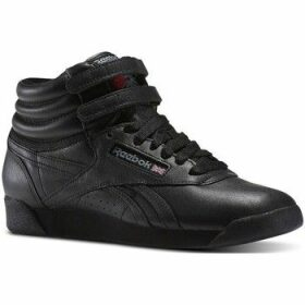 Reebok Sport  Freestyle HI OG Lux 35TH Anniversary  women's Shoes (High-top Trainers) in Black