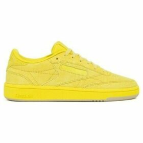 Reebok Sport  Club C 85  women's Shoes (Trainers) in Yellow