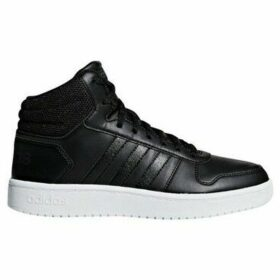 adidas  Hoops 20 Mid  women's Shoes (High-top Trainers) in Black