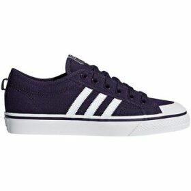 adidas  Nizza W  women's Shoes (Trainers) in Purple