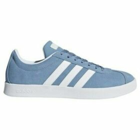 adidas  VL Court 20 Blue  women's Shoes (Trainers) in multicolour