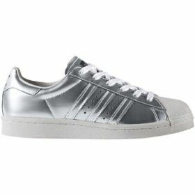 adidas  Superstar Boost Women Silver Metallic  women's Shoes (Trainers) in multicolour