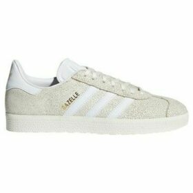 adidas  Gazelle W  women's Shoes (Trainers) in Beige