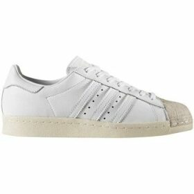 adidas  Superstar 80S Cork Ftwwhtftwwhtowhite  women's Shoes (Trainers) in White