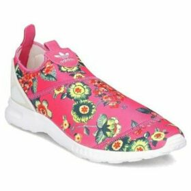 adidas  ZX Flux Smooth Slip ON  women's Shoes (Trainers) in Pink