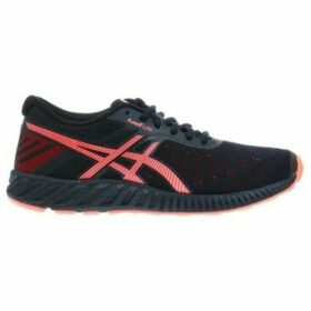 Asics  Fuzex Lyte Blackcoral  women's Running Trainers in multicolour