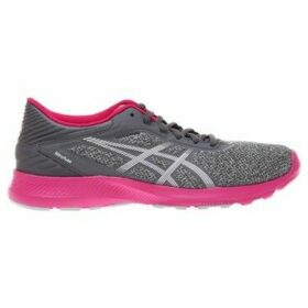 Asics  Nitrofuze Running Shoes Greypink  women's Running Trainers in multicolour
