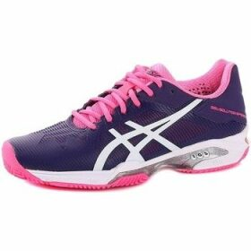 Asics  Gelsolution Speed 3 Clay  women's Tennis Trainers (Shoes) in multicolour