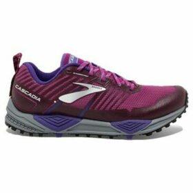 Brooks  Cascadia 13  women's Running Trainers in Purple