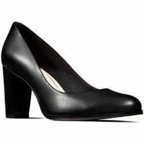 Clarks  Kaylin Cara  women's Court Shoes in Black
