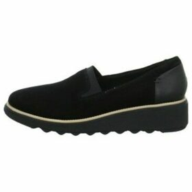 Clarks  Sharon Dolly  women's Shoes (Trainers) in Black