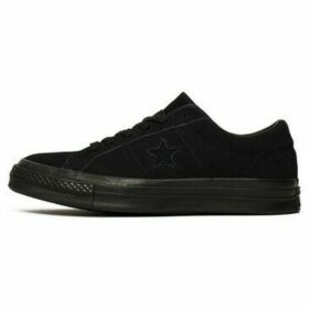 Converse  One Star Suede  women's Shoes (Trainers) in Black