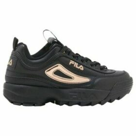 Fila  Disruptor II Metallic Accent Trainers  women's Shoes (Trainers) in Black