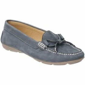 Hush puppies  Maggie Womens Moccasin Shoes  women's Loafers / Casual Shoes in Blue
