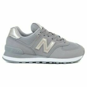 New Balance  574  women's Shoes (Trainers) in Grey