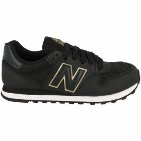 New Balance  500  women's Shoes (Trainers) in Black