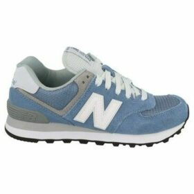 New Balance  WL574CC  women's Shoes (Trainers) in Blue