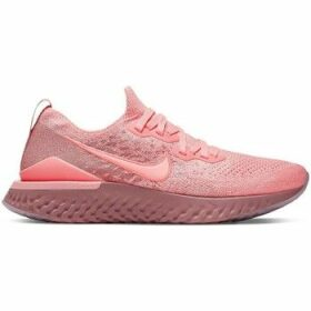 Nike  W Epic React Flyknit 2  women's Running Trainers in Pink