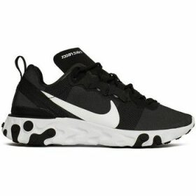Nike  W React  55  women's Shoes (Trainers) in Black