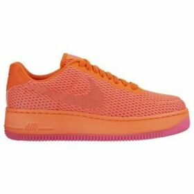 Nike  Air Force 1 Low Upstep BR  women's Shoes (Trainers) in Orange