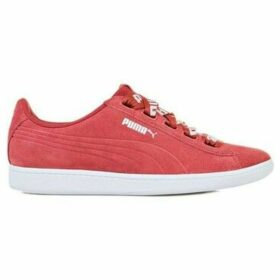 Puma  Vikky Ribbon Bold  women's Shoes (Trainers) in Red