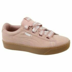 Puma  Vikky Platform Ribbon Bold  women's Shoes (Trainers) in Pink